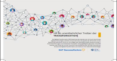 HR als unentbehrlicher Treiber der TRANSFORMATION