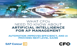 What CFOs Need to Know about Artificial Intelligence for AP Management
