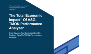 Recognize 179% ROI With Capacity Management Solution From ASG – Read the Forrester Report