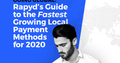 GOING GLOBAL:RAPYD'S GUIDE TO THE FASTEST GROWING LOCAL PAYMENT METHODS FOR 2020