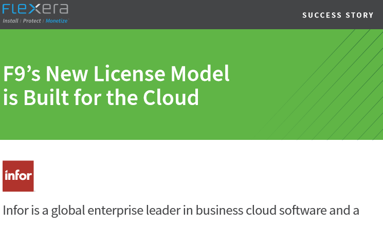F9's New License Model is Built for the Cloud