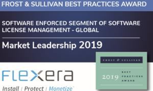 Frost & Sullivan Best Practices Award – Software Enforced Segment of Software Licence Management – Global