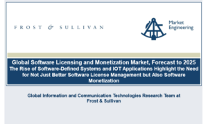 Frost & Sullivan Global Software Licensing and Monetization Market Forecast to 2025
