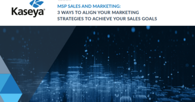 MSP SALES AND MARKETING: 3 WAYS TO ALIGN YOUR MARKETING STRATEGIES TO ACHIEVE YOUR SALES GOALS