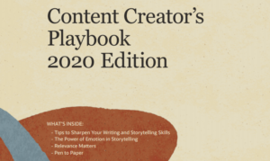 CONTENT CREATOR'S PLAYBOOK 2020 EDITION