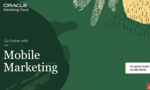 GO FURTHER WITH MOBILE MARKETING