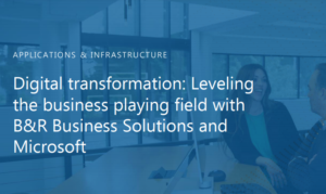 Driving positive business outcomes through collaborative support and technology