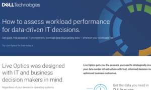 HOW TO ASSESS WORKLOAD PERFORMANCE FOR DATA-DRIVEN IT DECISIONS