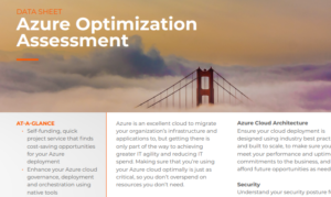 TAKE THE CLOUD COST ASSESSMENT AND STOP THE CREEP